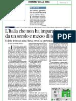 L'Italia che non ha imparato nulla da un secolo e mezzo di terremoti