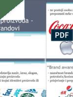 Marke proizvoda - brandovi