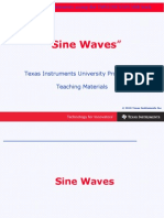 Chapter 4 Sine Waves