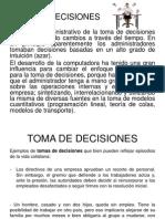 Exposicion Toma de Decisiones y Competencias de Un Gerente