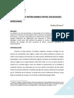 Articulo Relaciones De intercambio Entre Sociedades Africanas..pdf