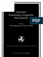 "Bomhard - Review of Dolgopolsky ""The Nostratic Hypothesis and Lingustic Palaeontology"""