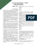 Provas Informática - ESAF
