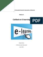 Ensayo Calidad E-Learning
