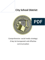 Provo School District Social Media Plan