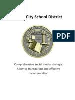 Provo School District Social Media Plan