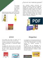 Revista Materias grasas