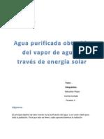 Purificacion Del Agua.