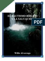 Willie Alvarenga - El Bautismo Bíblico y La Salvación