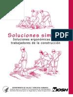 Soluciones ergonómicas para TRABAJO DE CONSTRUCION