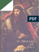 Xavier Escalada SJ - El Proceso de Jesus