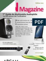 Guide du multimédia audiophile 2013 - ON Magazine