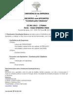 CONFER+èNCIAdeIMPRENSAeAPOIANTES.25.06.2013