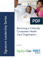 AHA Becoming a Culturally Competent Health Care Organization