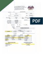 Gravestone Conservation Forms