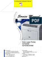 Samsung Clp-620nd Clp-670n Clp-670nd Service Manual