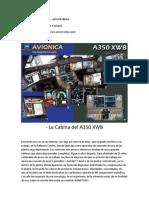 Sección AVIÓNICA  Cap 1 - La Cabina del A350 XWB - Ing Alejandro Irausquín - Aerocronika