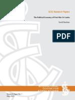 The Political Economy of Post-War Sri Lanka by Sunil Bastian
