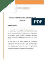 Apunte Estado Constitucional de Derecho y Justicia