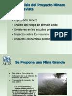 Analisis DAR en Mina Bellavista