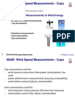 DTU Wind Speed Course Cups
