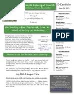 St Francis E-News - June 24, 2013
