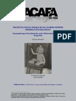 Psicopatologia Da Crianca