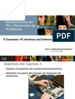 Mantenimiento del PC y Resolución de Problemas - Clase 4