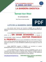 02 60 ORIGINAL Luto en La Bandera Gnostica Www.gftaognosticaespiritual.org