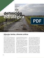 Agricultura familiar campesina Diferentes familias, diferentes políticas