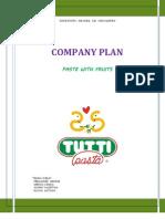 Plan de Empresa Tutti Pasta