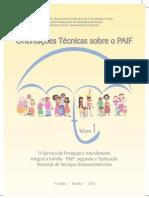 Orientações técnicas para o PAIF - vol. 1