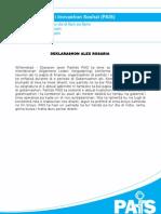 Nota Di Prensa 2013 Deklarashon ALV