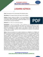 30 01 GLOSARIO AZTECA Www.gftaognosticaespiritual.org
