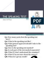 The Speaking Test