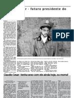 Defesa da Beira - Entrevista a Cláudio César.