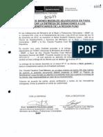 Acta firmada Cong. Coari recibiendo donaciones de Ana Jara - @BankadaFP