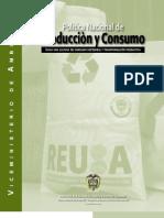 Politica Nacional de Produccion y Consumo Sostenible