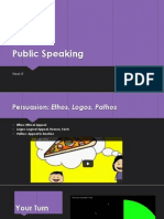 Public SpeakingWK82013X2