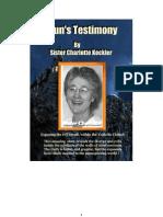 Sister Charlotte - A Nun s Testimony