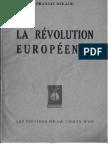 Delaisi Francis - La révolution européenne