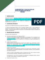 Memoria Descriptiva Elec. IE San Ramon Piscina