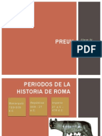 Preuv,Roma Primer Bloque