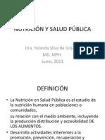 NUTRICIÓN Y SALUD PÚBLICA