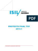Proyecto Final TCP 2013-1