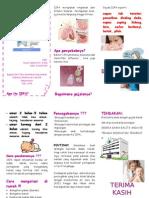 Leaflet Penyuluhan ISPA