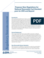 EPA - Proposes New Regulations for the National Renewable Fuel Standard Program for 2010 and Beyond