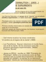 TEORIA PSICOANALITICA .teóricos 1