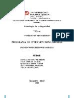 Trabajo Final Psicologia - Conflicto y Negociacion