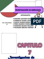 Cap 7 y 8 Inv de Mercados [Reparado]